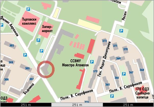 Karta Ofis Sofiya Trgovski Sistemi Blgariya